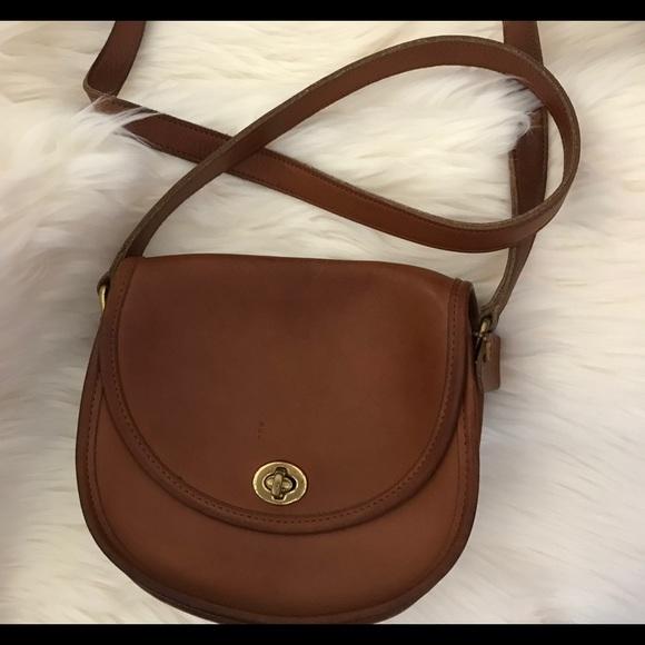 11177a47260 Coach Bags   Rare Vintage Leather Crossbody Bag   Poshmark